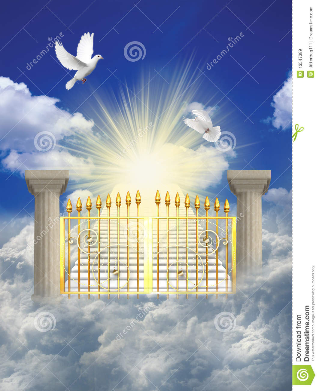 Heaven Royalty Free Stock Images   Image  13547389