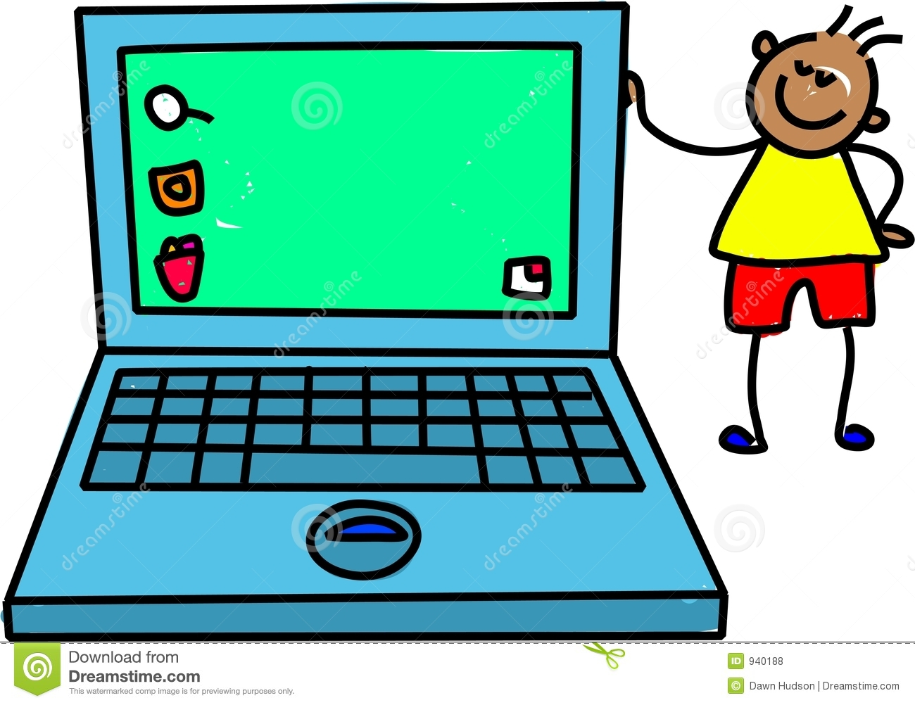 Laptop Computer Clipart For Kids   Clipart Panda   Free Clipart Images