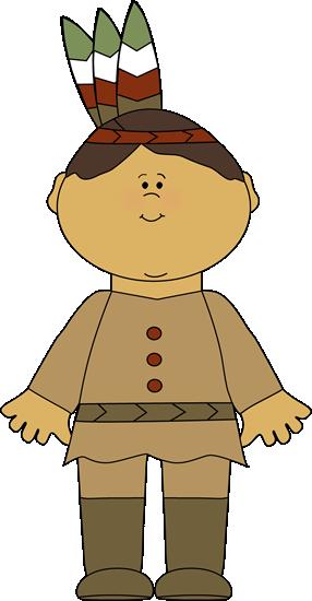 Native American Boy Clipart - Clipart Kid
