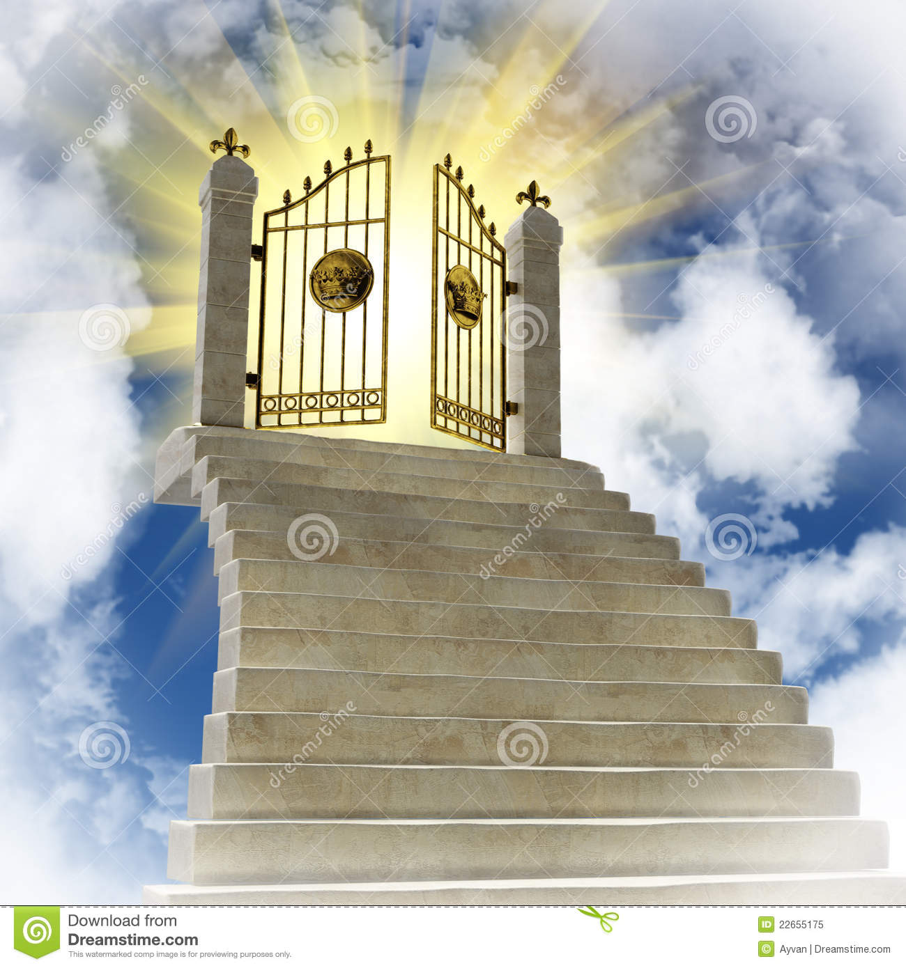 Pearly Gates Of Heaven Clipart The Gates Of Paradise In