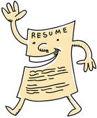 Resume Clipart And Illustrations