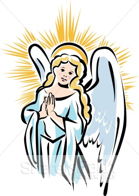 Shining Angel From Heaven   Angel Clipart