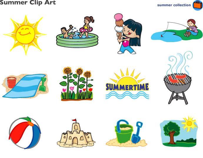 Free Summer Clipart - Clipart Kid