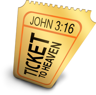 Ticket To Heaven Clipart