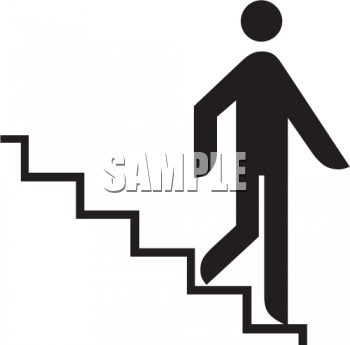 clip art of descending stairs � cliparts