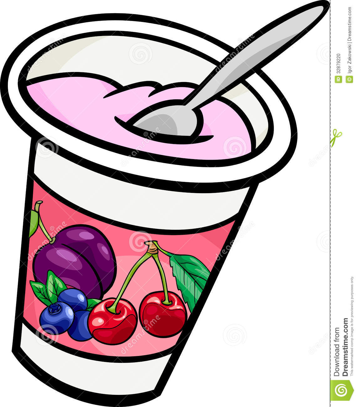 Yogurt Clipart Black And White   Clipart Panda   Free Clipart Images