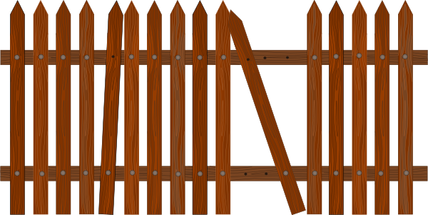Wood gate clipart suggest