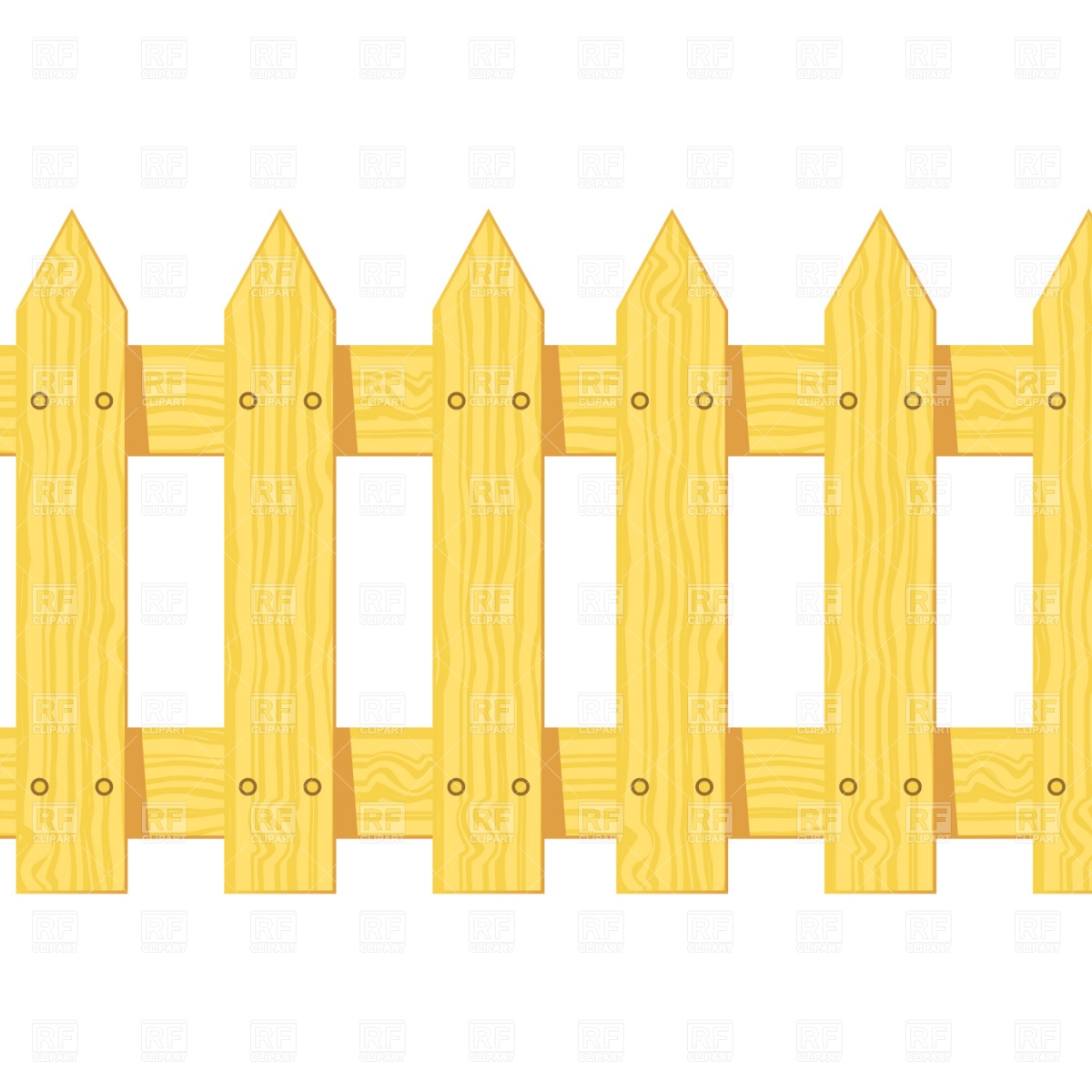 Wooden fence clipart suggest