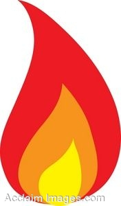 Flame Clip Art - Synkee
