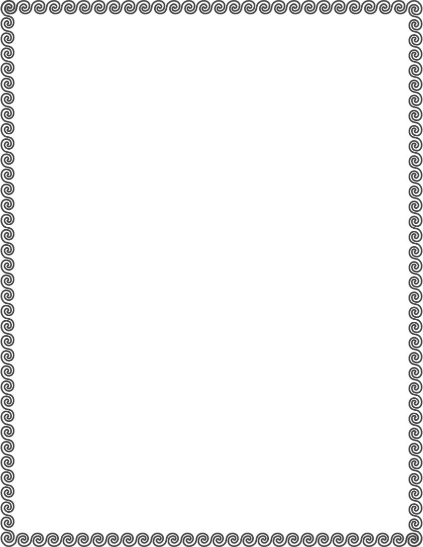 Frames Simple Ornamental Wave Scroll Wave Scroll Border ...