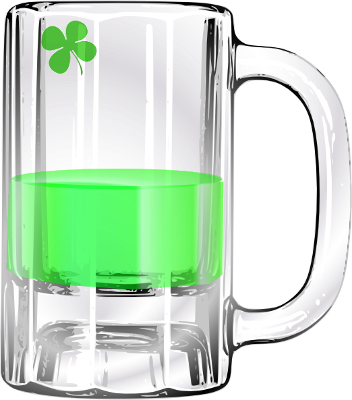 Free Green Beer Clipart