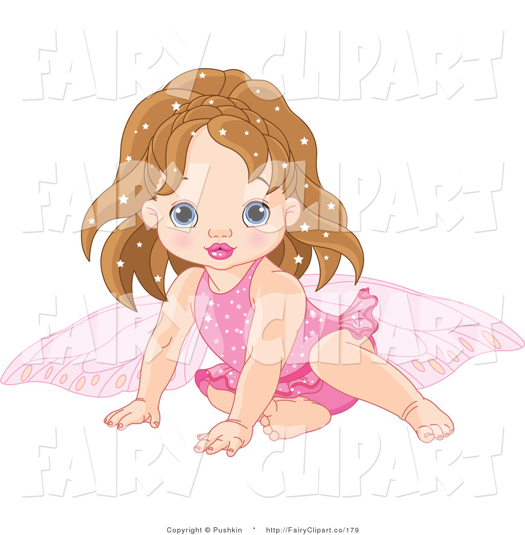 Of A Baby Fairy In Pink Fairy Clip Art Pushkin