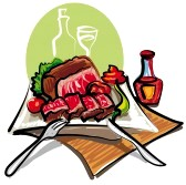 Roast Beef Clipart 9608821 Roast Beef And Vegetables Jpg