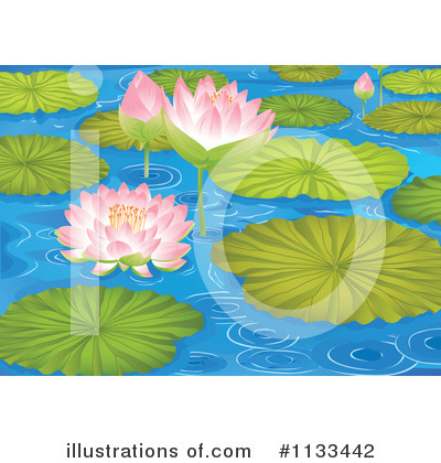 Royalty Free  Rf  Pond Clipart Illustration By Colematt   Stock Sample