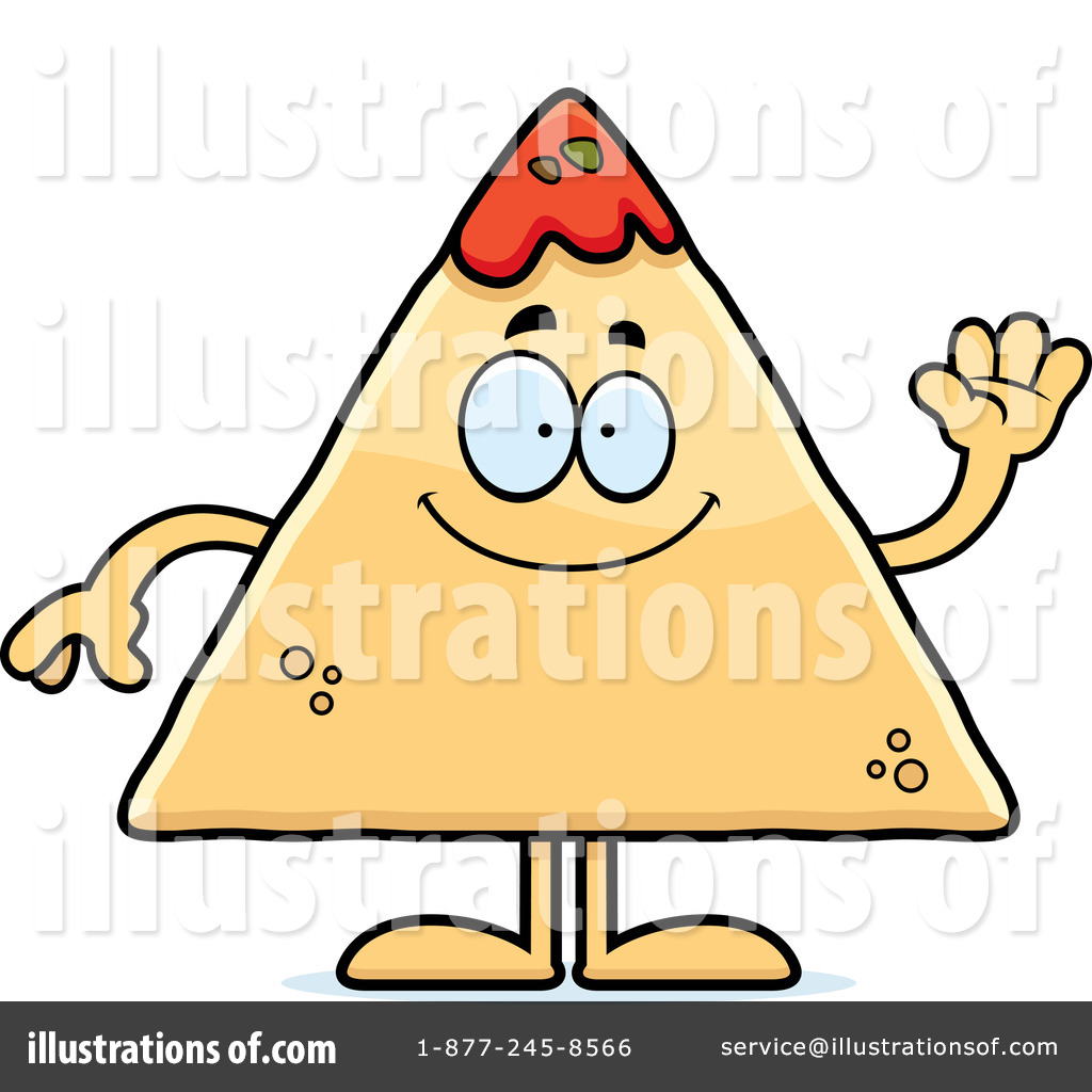 Royalty Free  Rf  Tortilla Chip Clipart Illustration  1164943 By Cory