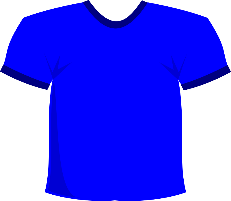 Shirt Blue By Stevepetmonkey   A Simple Tee Shirt In Blue