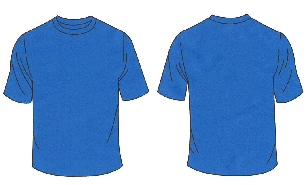 Shirt Template Blue Free Cliparts That You Can Download To You