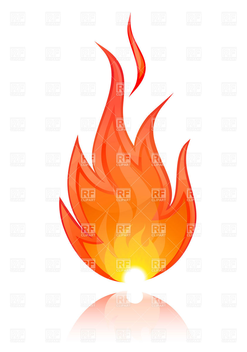 Free Flame Clipart - Clipart Kid