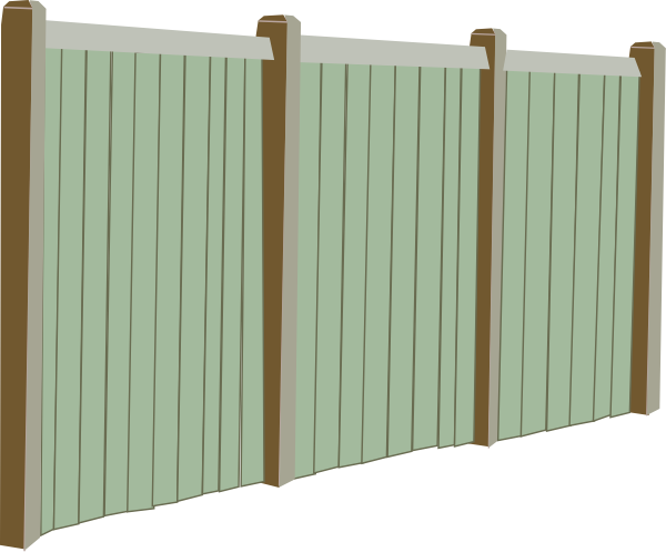 Wood Fence Clip Art At Clker Com   Vector Clip Art Online Royalty