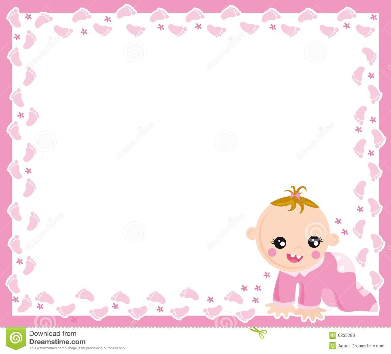 baby girl born clipart baby girl frame