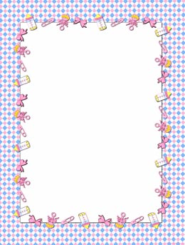 baby items page frames