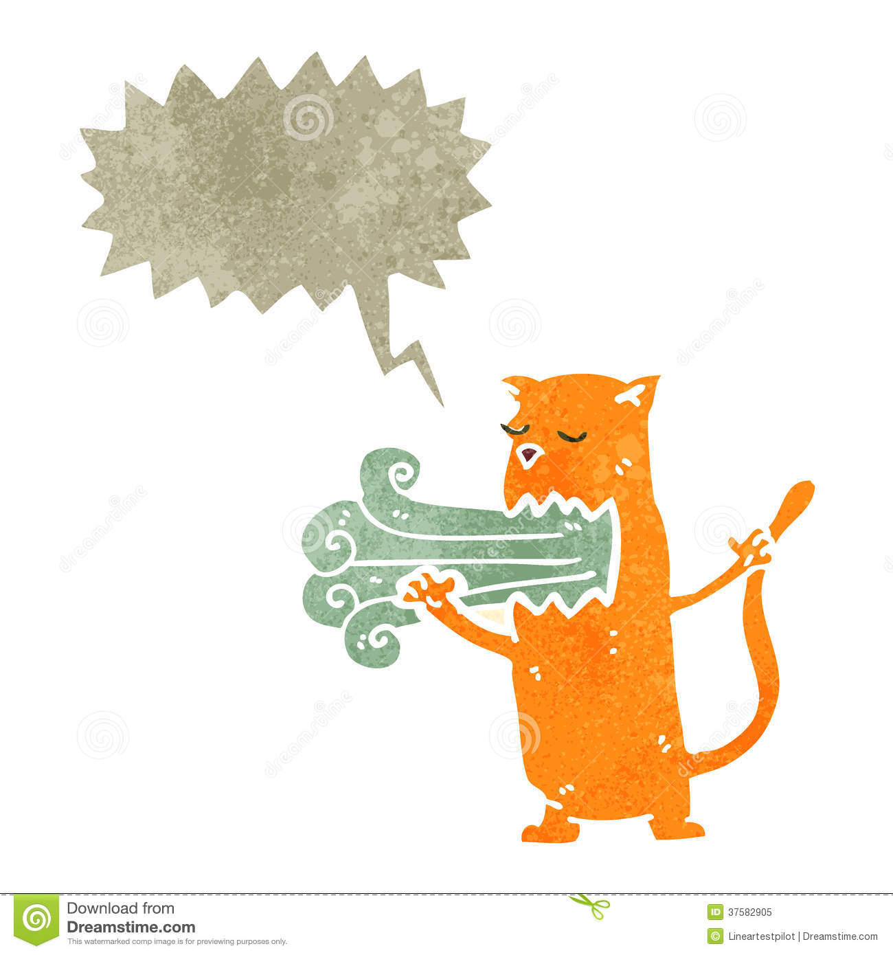 Bad Breath Clipart Cat With Bad Breath