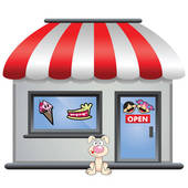 Candy Store Stock Illustrations  76 Candy Store Clip Art Images And