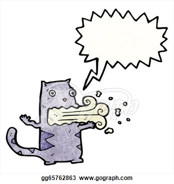 Cat With Bad Breath  Clipart Illustrations Gg65762863   Gograph
