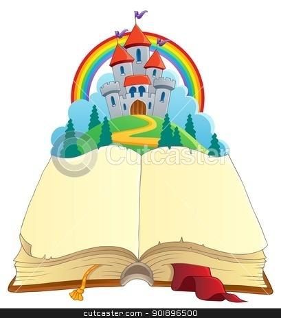 Fairy Tale Clip Art 901896500 Fairy Tale Book Theme Image 1 Jpg