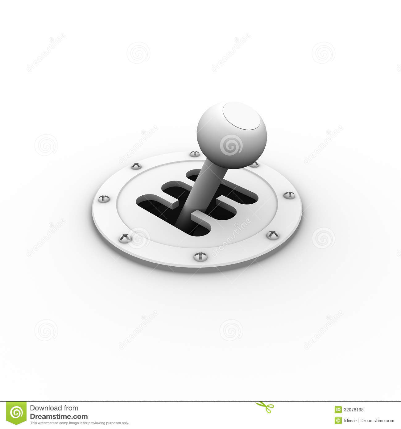 Gear Shift Royalty Free Stock Photos   Image  32078198
