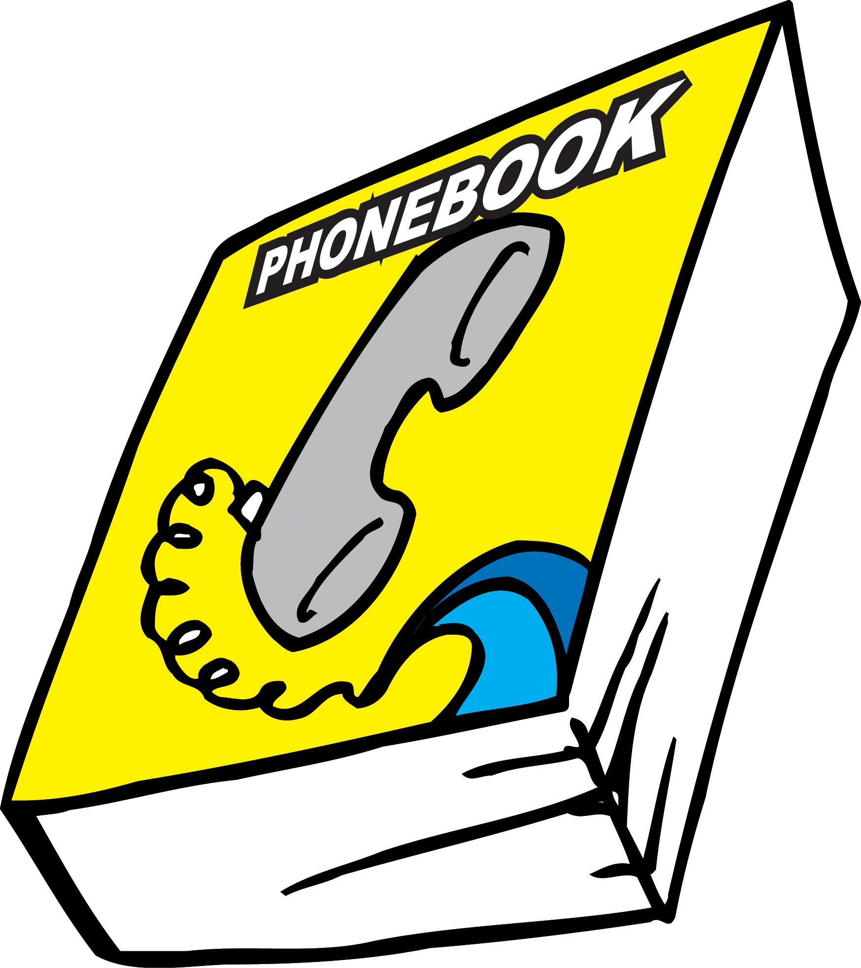 Phone Book Clipart - Clipart Kid