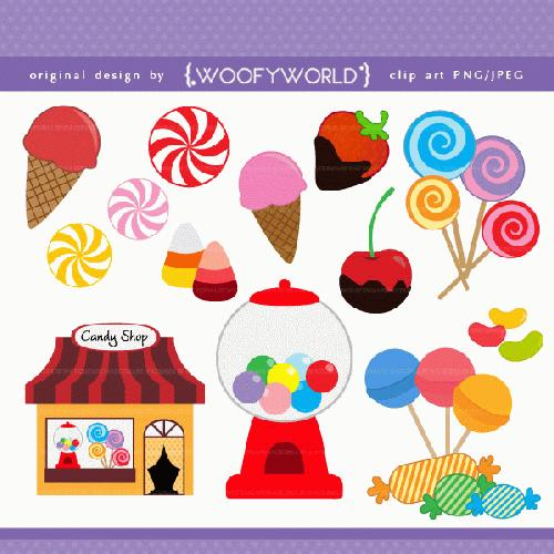 My Grafico  Candy Shop Clipart