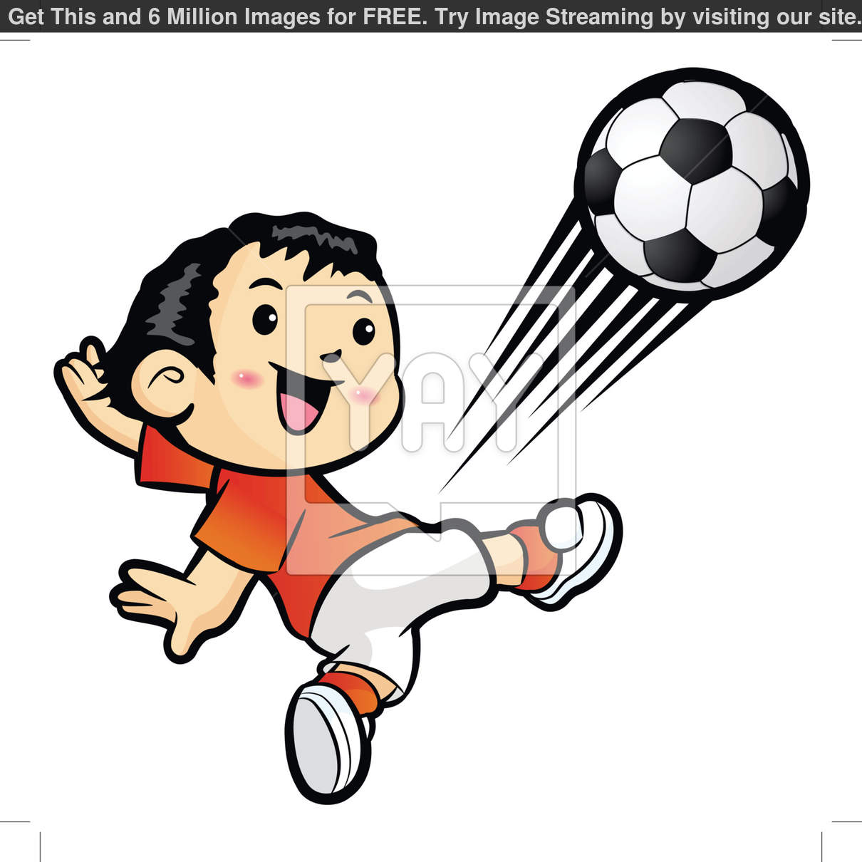 No Kicking Clipart Football Player Kicking A