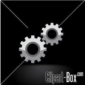 Related Gears Cliparts