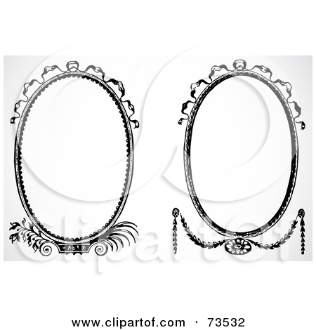 Royalty Free  Rf  Oval Clipart Illustrations Vector Graphics  1