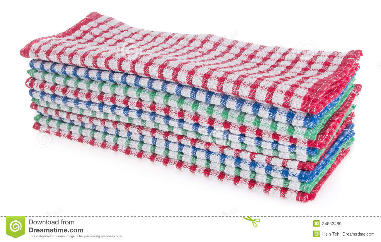 Towel  Kitchen Towel On A Background Royalty Free Stock Images   Image
