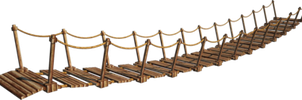 Wood Bridge Clipart Wooden Bridge 6 A