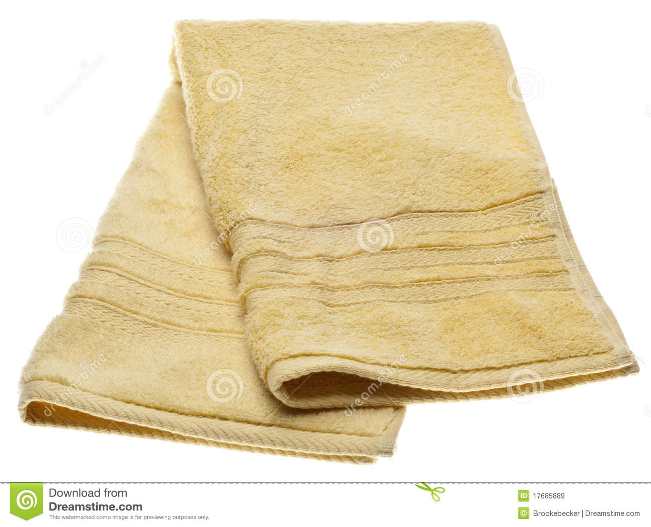 Yellow Kitchen Dish Towel Royalty Free Stock Images   Image  17685889