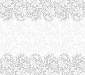 Card With Lace Fabric Background