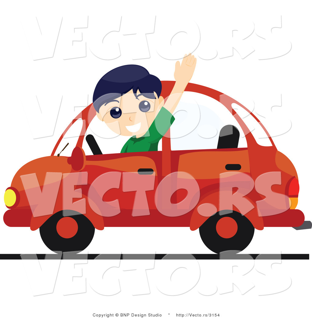 Clipart Boy Waving