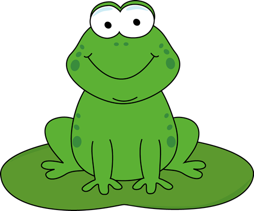 Frog On Lily Pad Drawing   Clipart Panda   Free Clipart Images