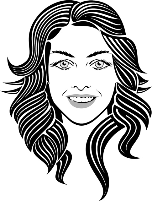Girl Face Vector Image   Flickr   Photo Sharing