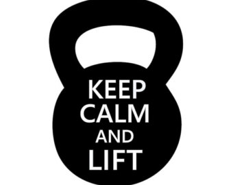 Kettlebell Decal  Choose Size   Col Or  Kettlebell Sticker   Kettle