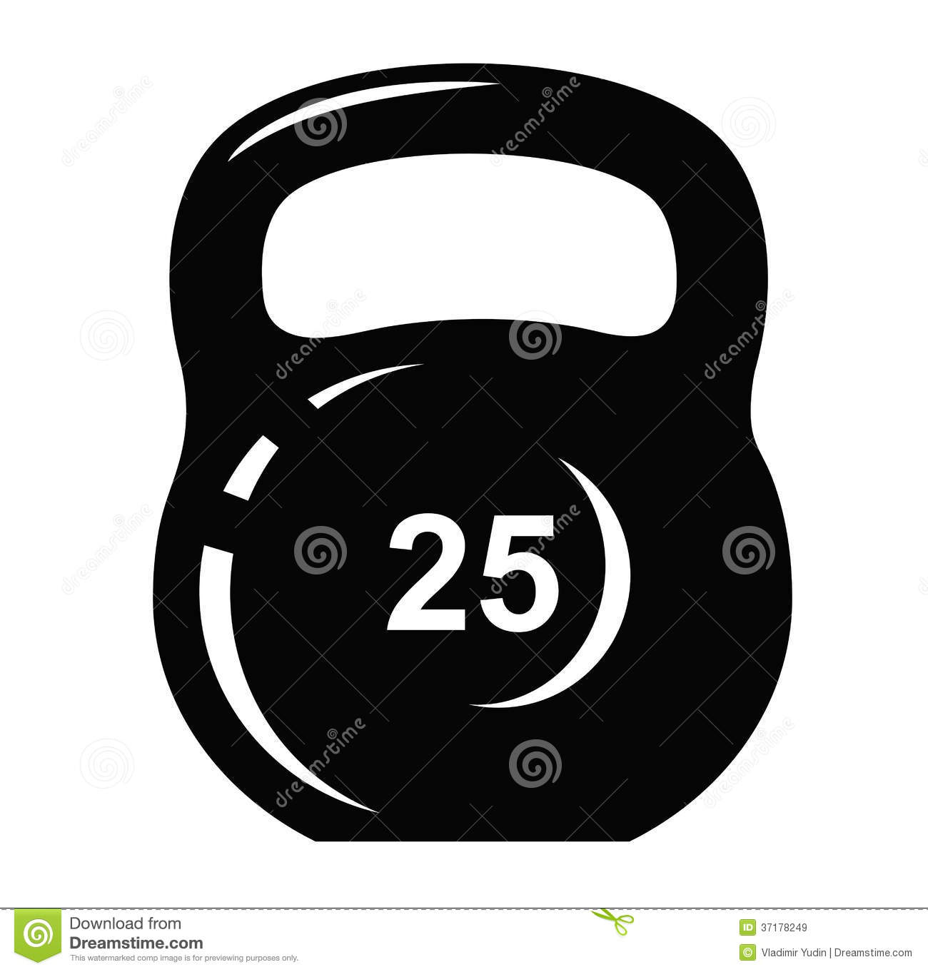 Kettlebell Icon Royalty Free Stock Images   Image  37178249