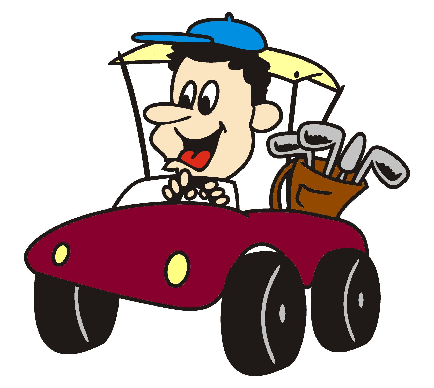Rental Car Cartoon Clipart   Cliparthut   Free Clipart
