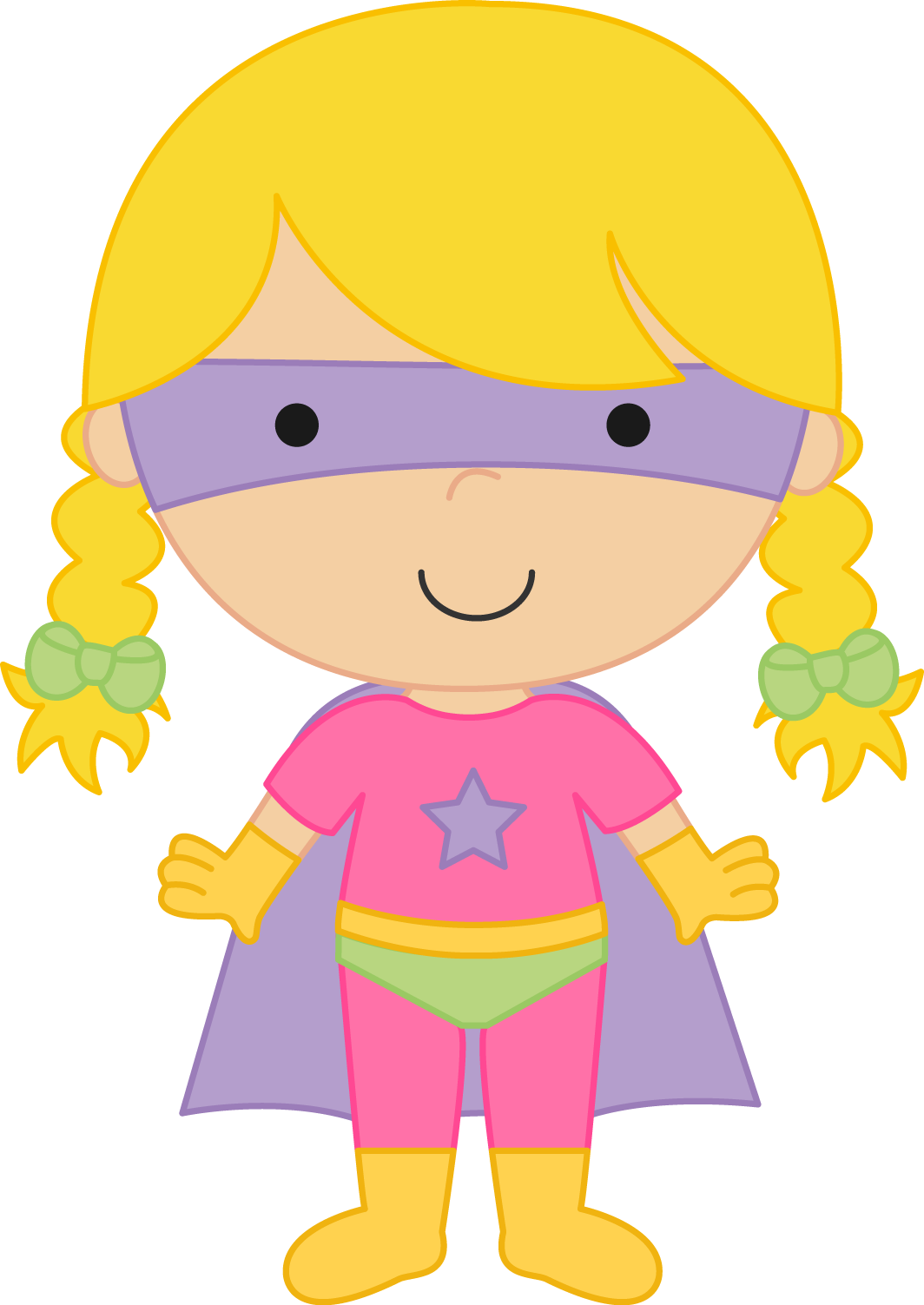 Super Girl Clipart   Cliparthut   Free Clipart