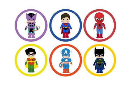 Super Hero Clip Art Free