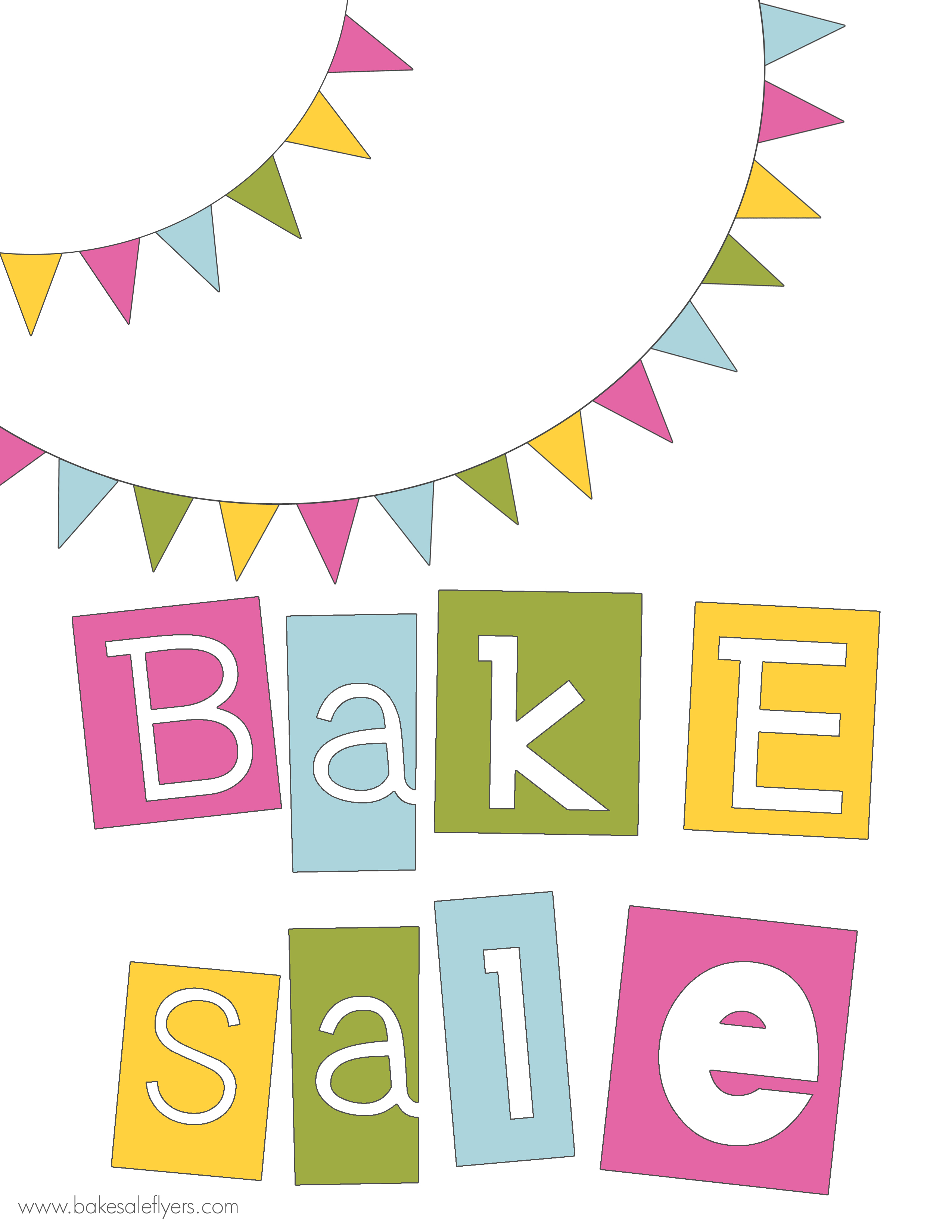 Bake Sale Clipart - Clipart Kid