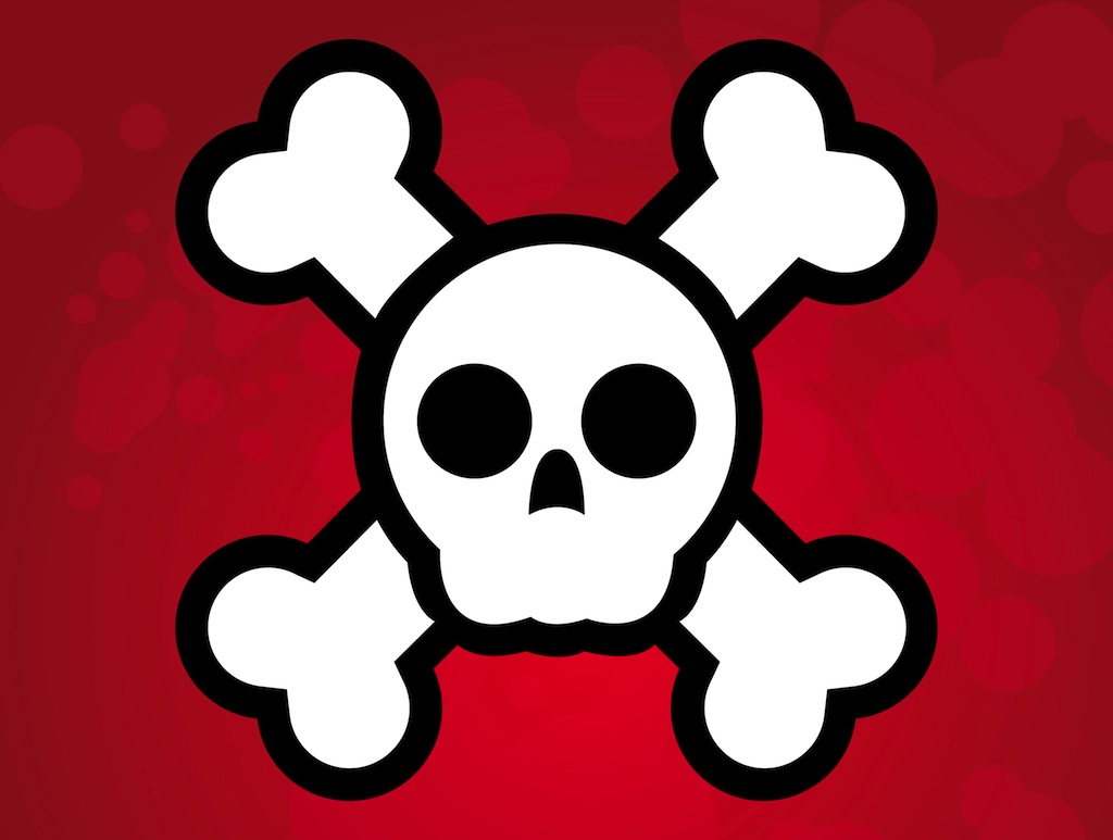 Pirate Skull Clipart - Clipart Suggest