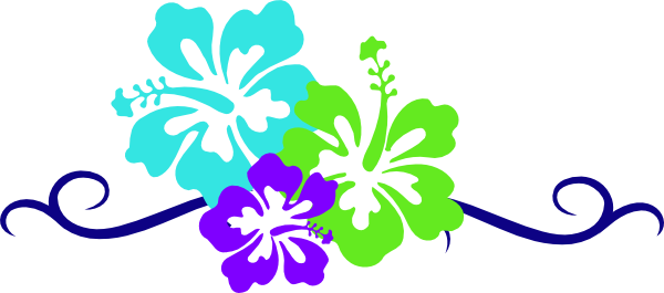 Displaying  12  Gallery Images For Luau Flowers Clip Art